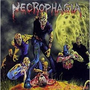 Necrophagia Season of the Dead Importada USA