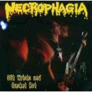 Necrophagia Slit Wrists And Casket Rot En CD
