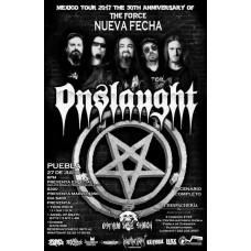 Onslaught Puebla 27 de Julio La Despacheria