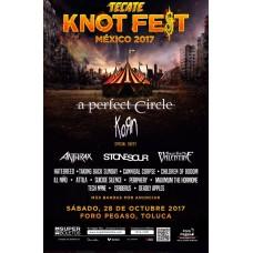 Knotfest 2017 Mexico Foro Pegaso Toluca