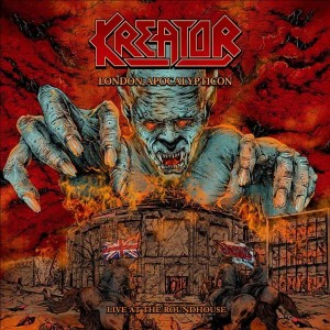Kreator London Apocalypticon CD