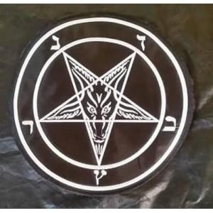 Parche Pentagrama Bordado ¡Envió Gratis!