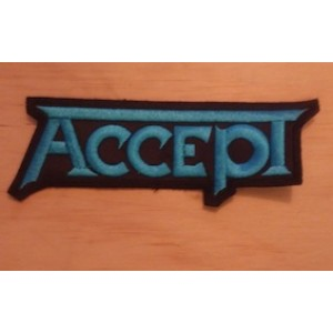 Accept Parche Bordado $99 MX
