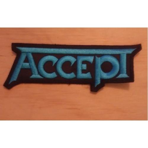 Accept Parche Bordado $99 MX