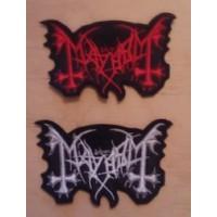 Mayhem Parche Bordado MX