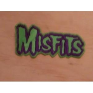 Parche Bordado Misfits (Verde)