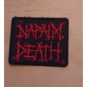Napalm Death Logo patch