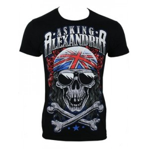 Asking Alexandria Playera Skull