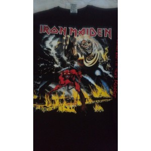 Iron Maiden The Number of The Beast Playera Manga Larga Envio Gratis