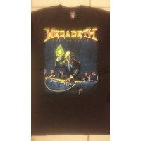 Megadeth Rust In Peace Playera Manga Corta