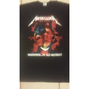 Metallica Hardwire to Self Destruct Manga Corta