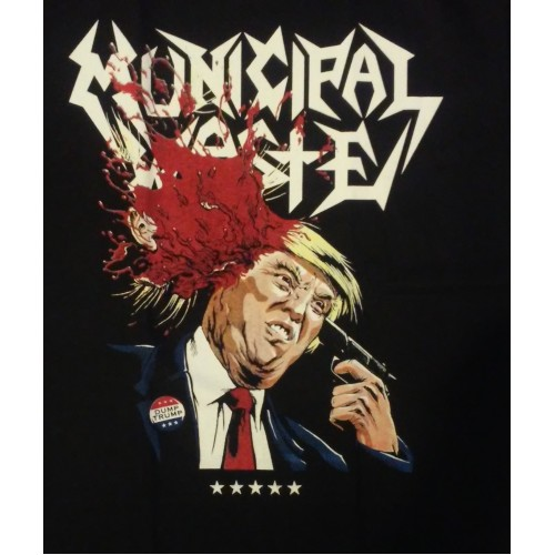 Municipal Waste The Only Walls We Build Are Walls Of Death Manga Larga