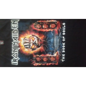 Iron Maiden The Book Of Souls Talla Mediana Pocas Piezas