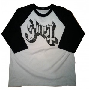 Ghost Playera Manga 3/4  -