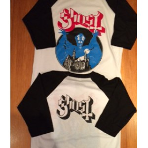 Ghost Bc Playera Doble Estampado