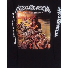 Helloween Walls of Jericho Playera Manga Larga