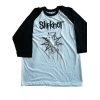 Slipknot Playera Tres Cuartos Importada