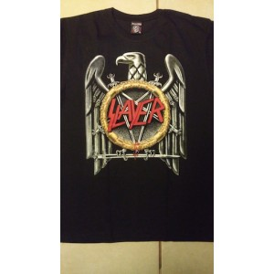 Slayer Eagle Logo Playera Manga Corta Talla EX