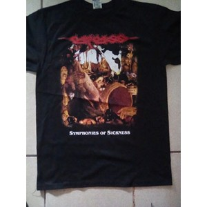 Carcass Symphonies of Sickness Playera Mediana  (No disponible por el momento)